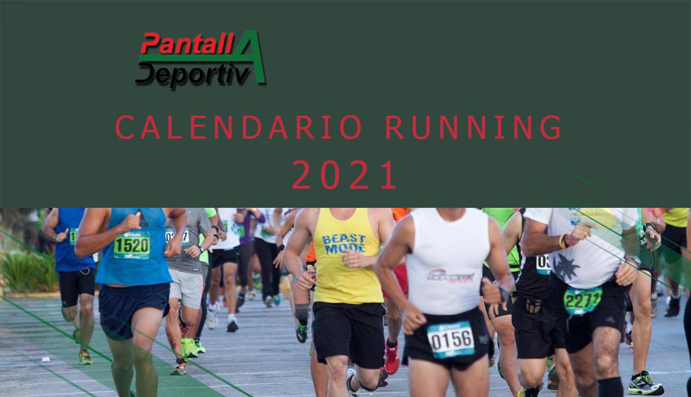 Calendario actividades running