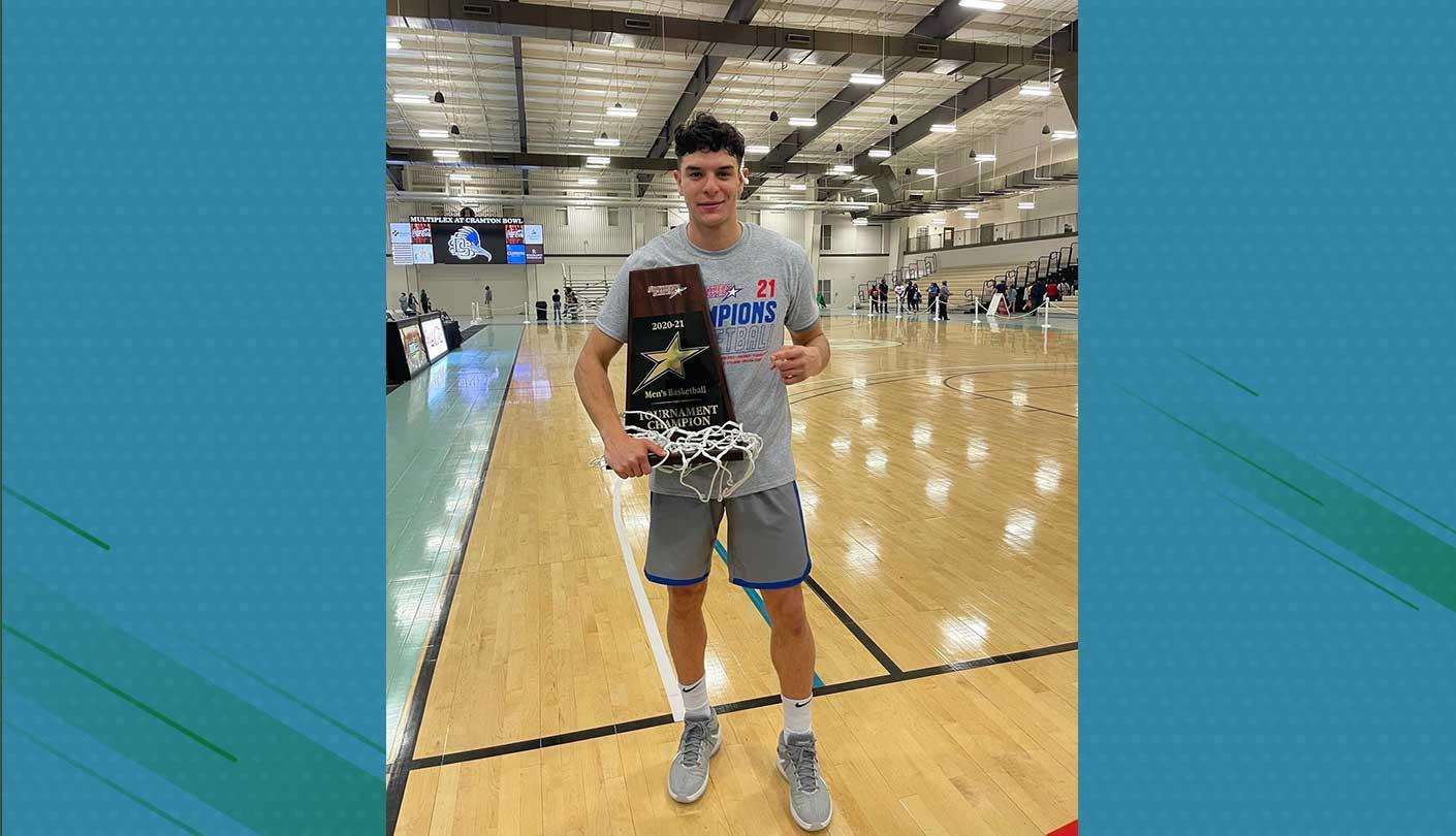 Daniel Garmendia y Faulkner University campeones de la Southern States