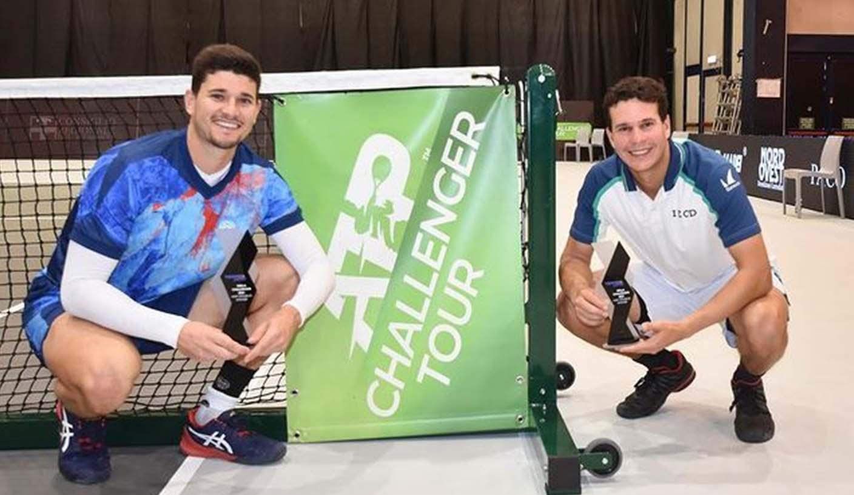 Luis David Martínez se tituló en dobles en el Challenger de Biella