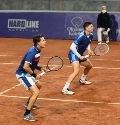 Martínez y Vega cayeron en cuartos de final del Challenger de Biella 2