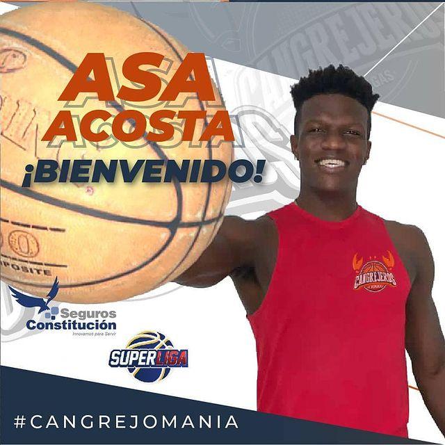 Asa Acosta jugará con Cangrejeros de Monagas