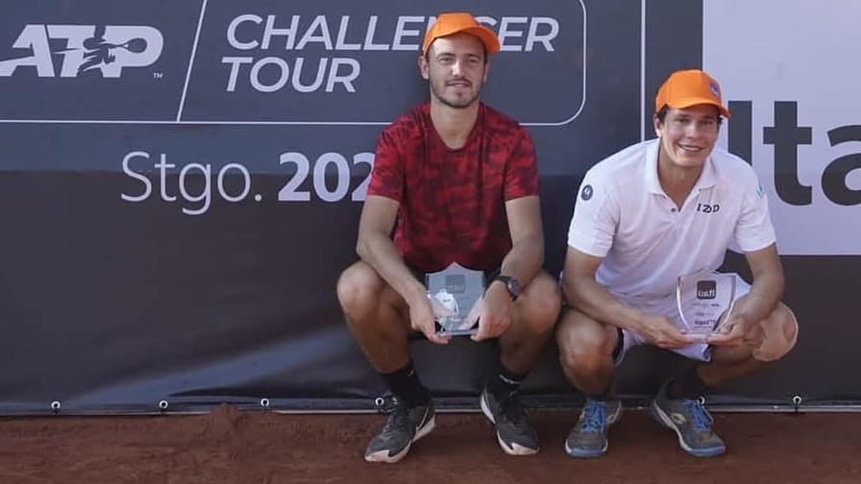 Luis David Martínez se tituló en el Challenger de Santiago