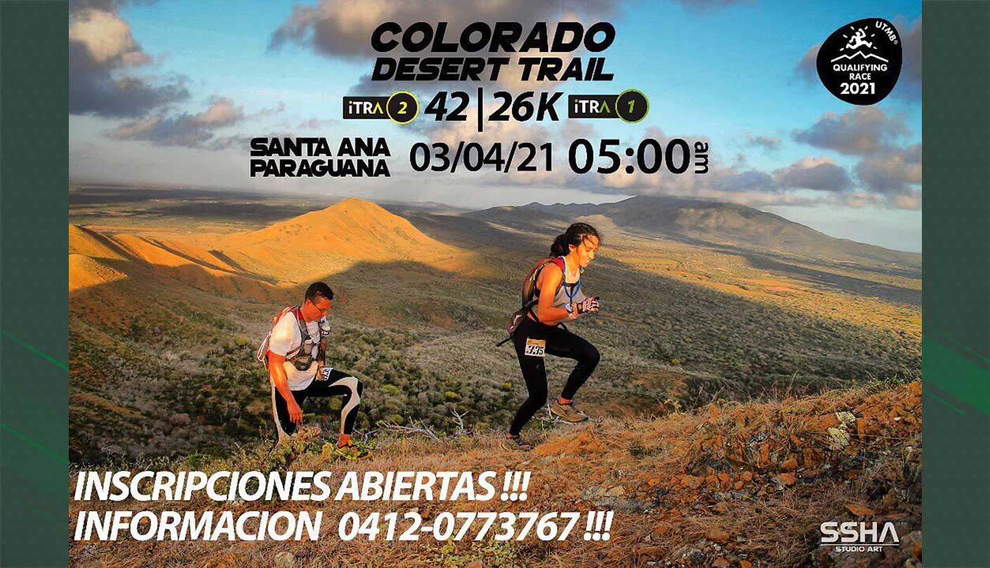 Colorado Desert Trail 42 & 26 Km