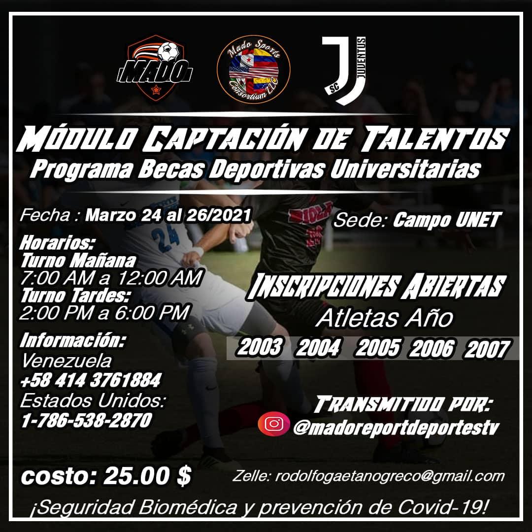 Escuela Juventus y Mado Sports se unen para becar jóvenes talentos del fútbol