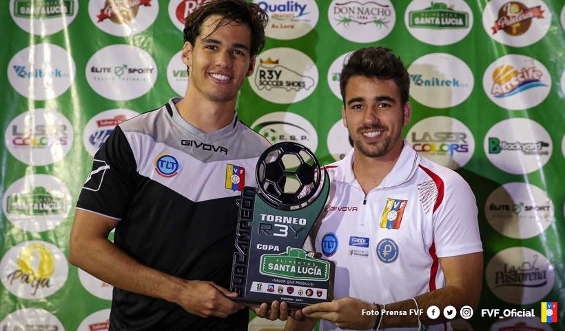 La Vinotinto Sub 20 se quedó con el subcampeonato de la Copa Santa Lucía