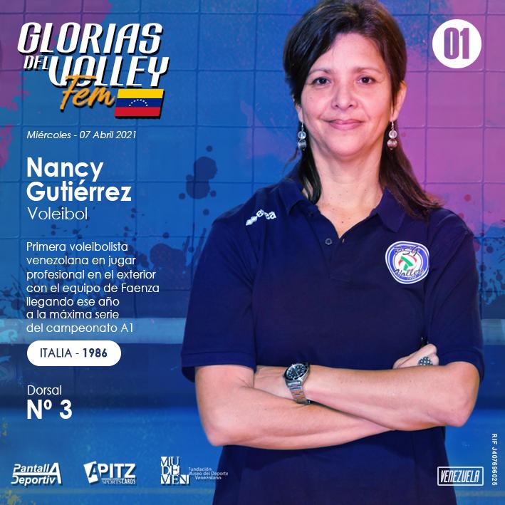 Historias voleibol femenino en Venezuela: Nancy Gutiérrez