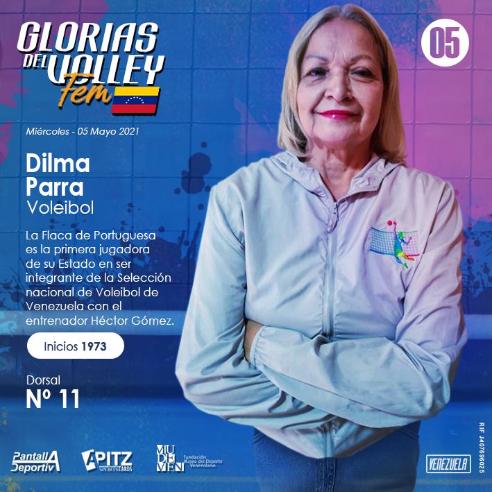Glorias del Volley Femenino: Dilma Parra