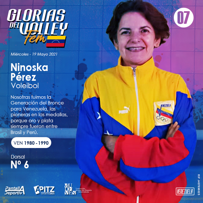 Glorias del Volley Femenino: Ninoska Pérez