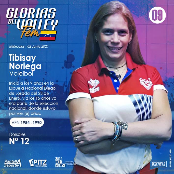 Glorias del Volley Femenino: Tibisay Noriega
