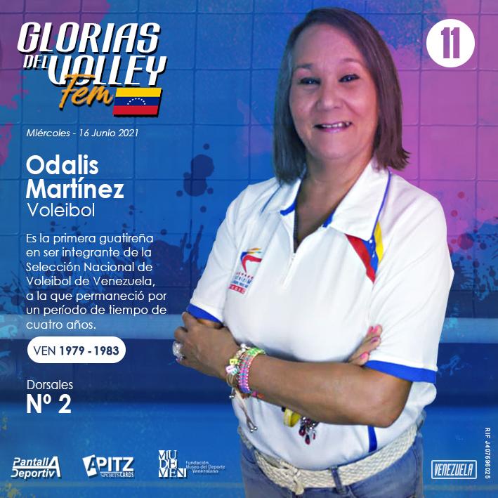 Glorias del Volley Femenino: Odalis Martínez