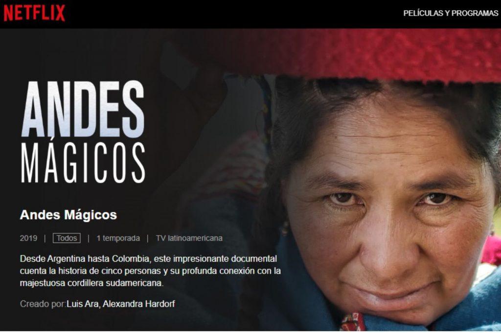 Andes Mágicos Netflix