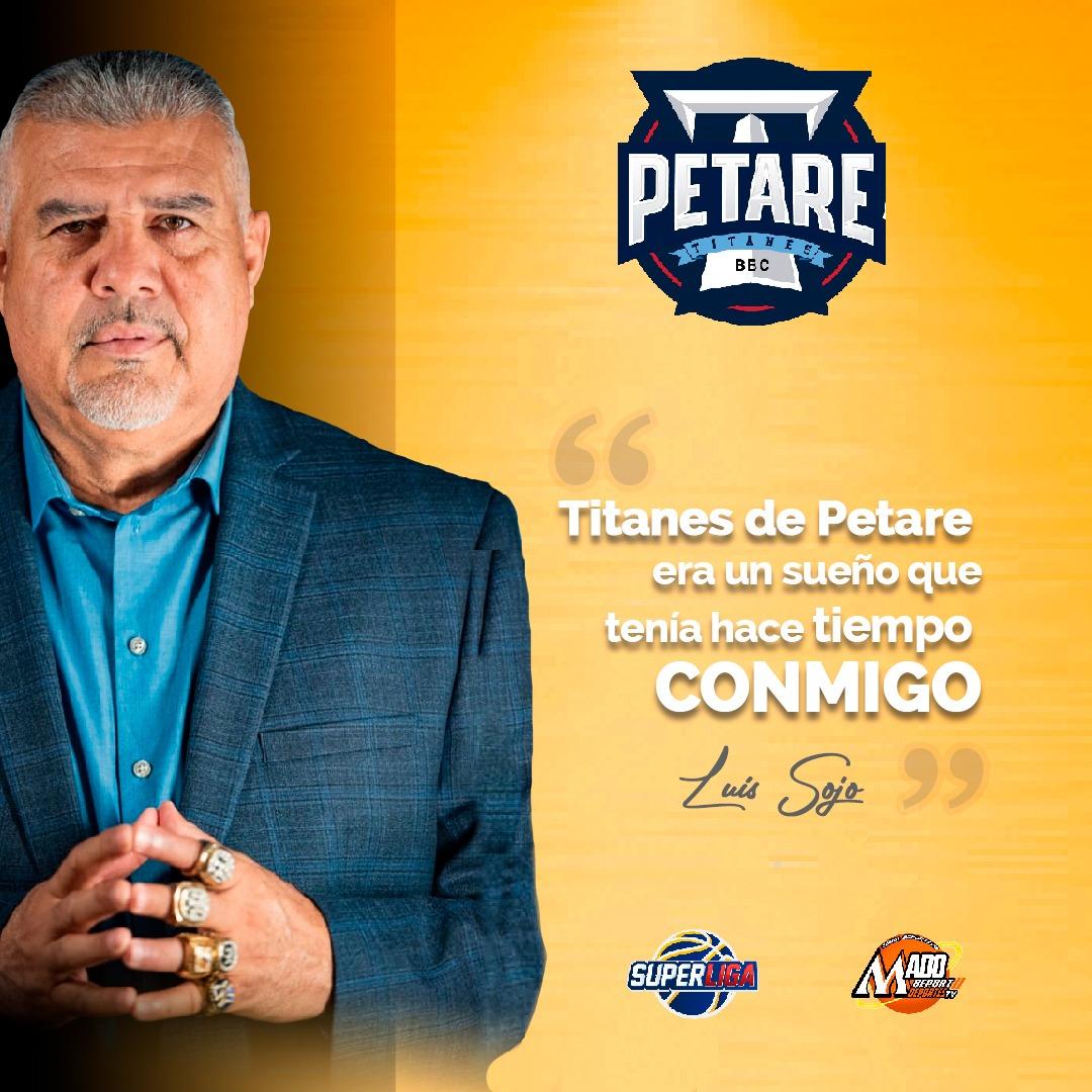 """Luis Sojo: """"Titanes de Petare era un sueño que tenía siempre conmigo"""""""