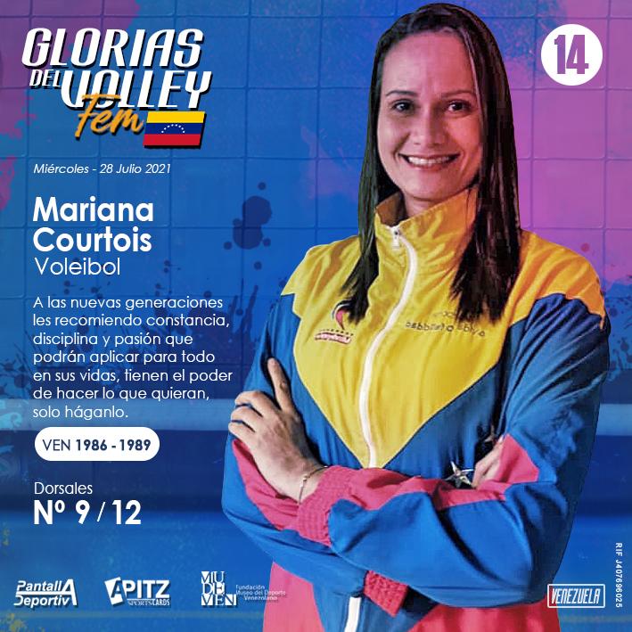 Glorias del Volley Femenino: Mariana Courtois