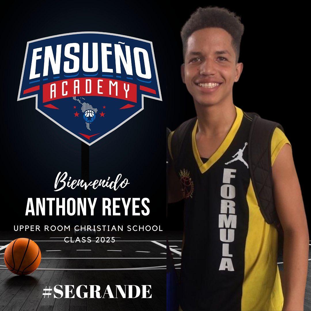 Anthony Reyes es el nuevo becado por Ensueño Hoops