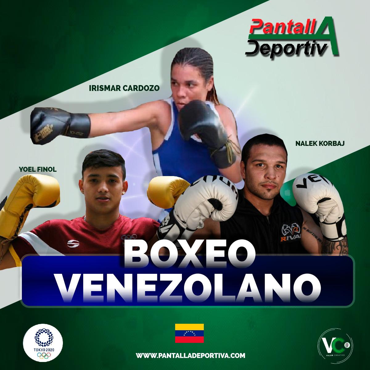 El boxeo venezolano comienza su andar en Tokio en búsqueda de la séptima medalla olímpica