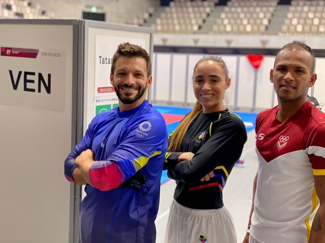 Karate venezolano comienza la lucha por las medallas en Tokio