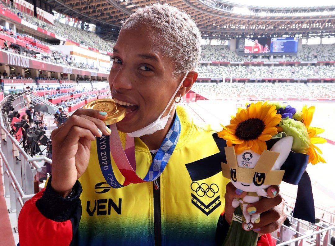 Yulimar Rojas voló directo al olimpo con su oro en Tokio