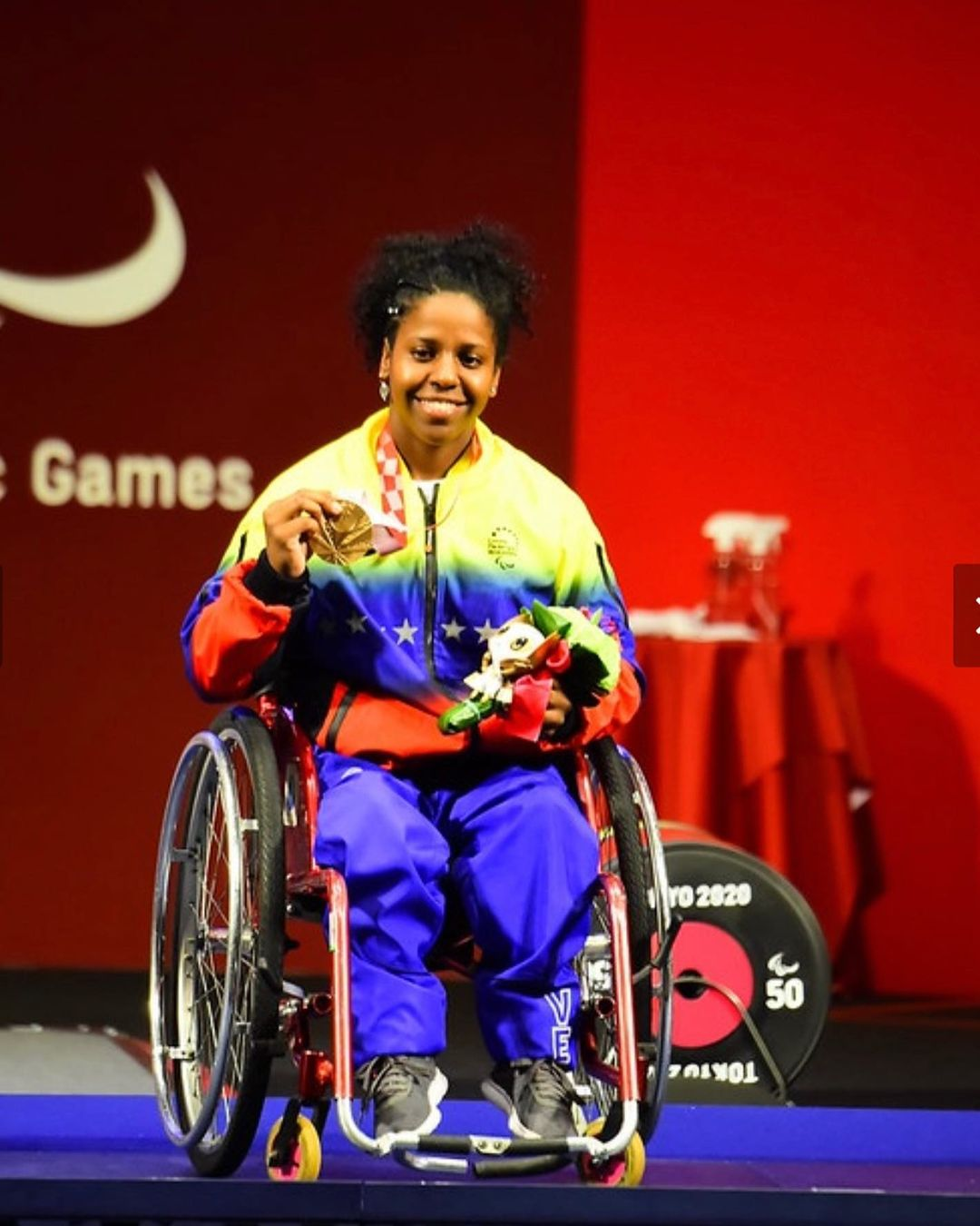 Clara Fuentes le da la primera medalla a Venezuela en los Juegos Paralímpicos