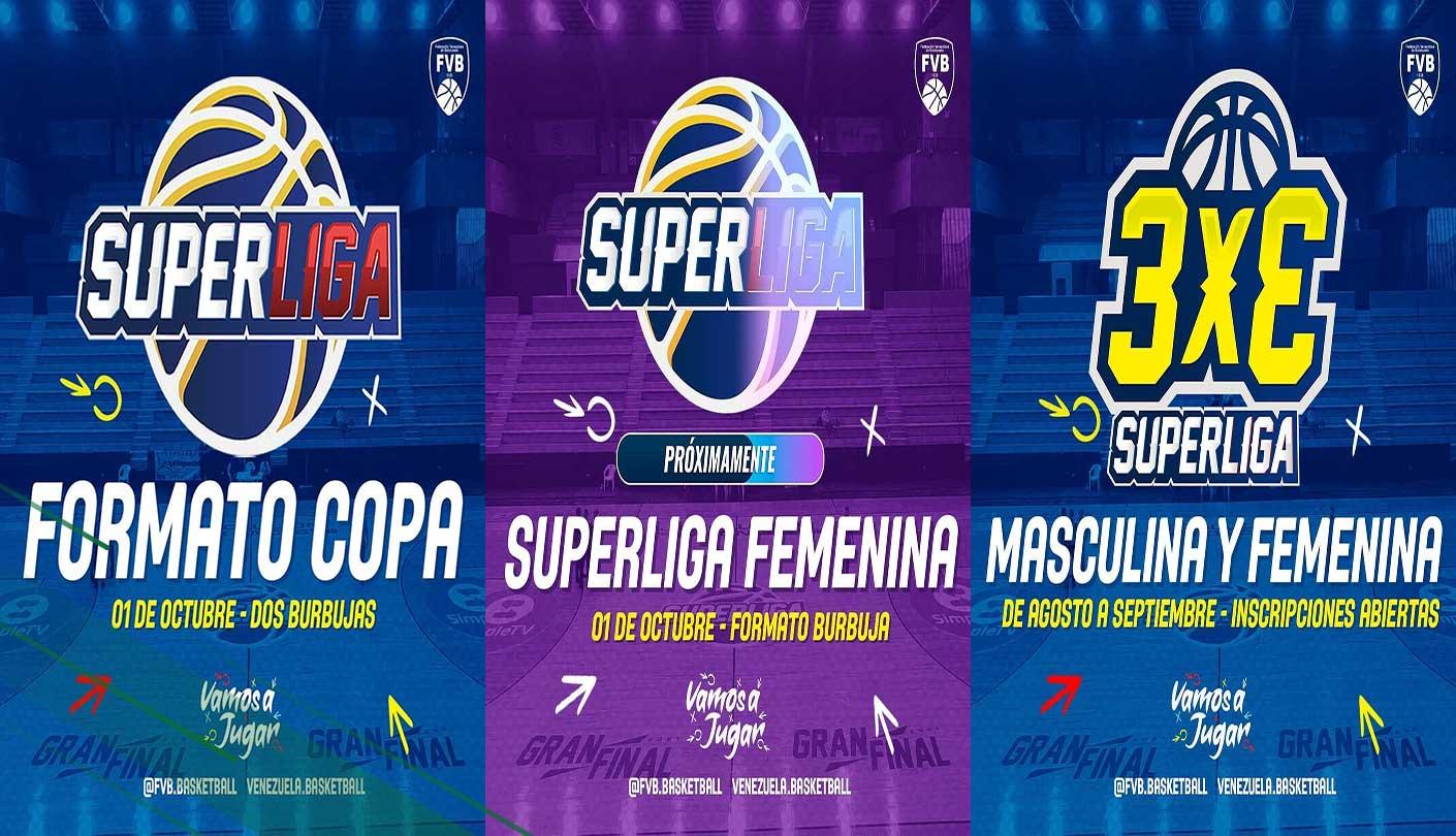 FVB anuncia Superliga Femenina, Superliga masculina en formato copa y 3x3
