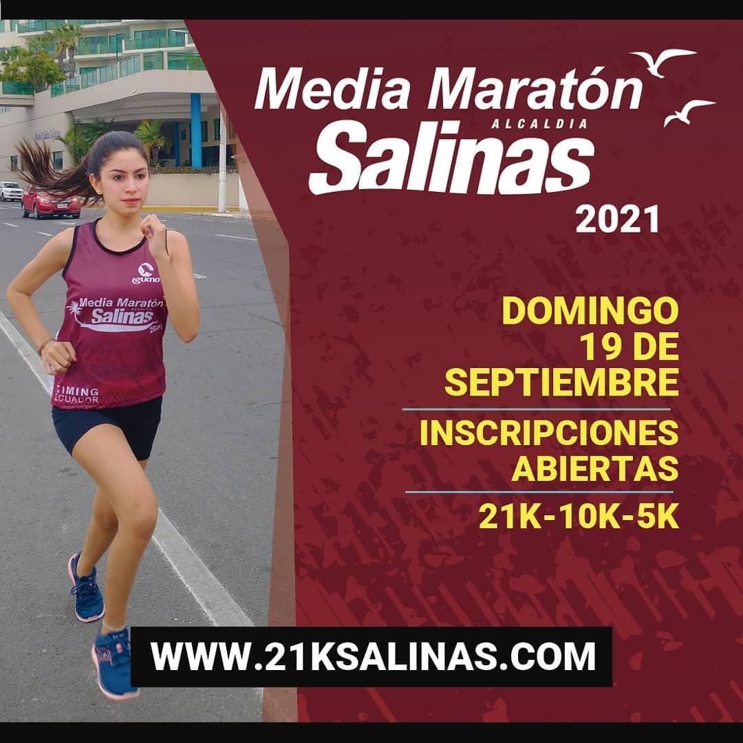 Media Maratón Alcaldía de Salinas 2021