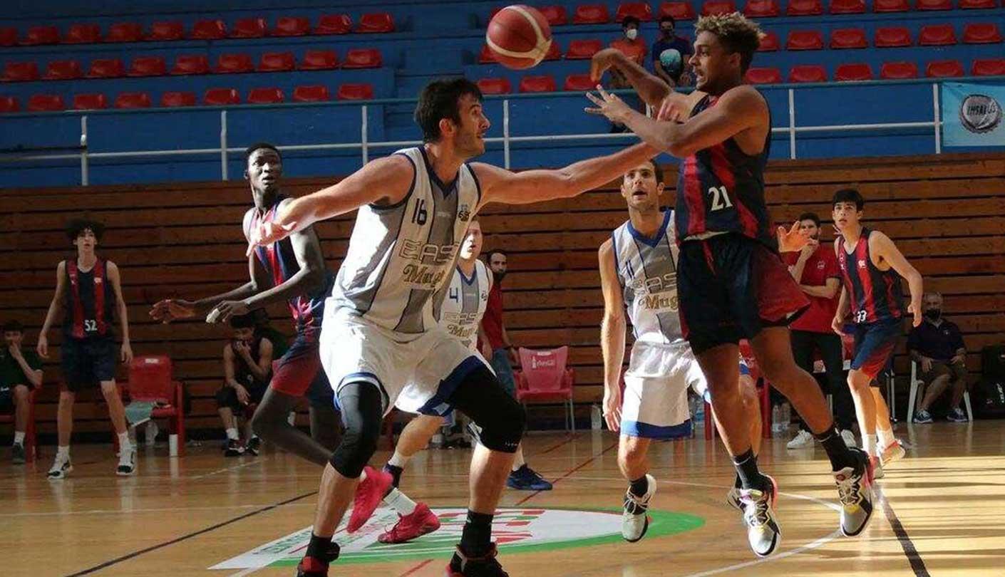 Franger Pirela lideró triunfo del Baskonia ante el LogroBasket Club